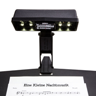 photo of a Kliplite LED Music Stand light
