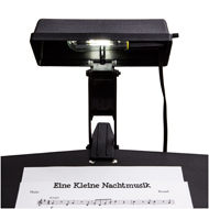 photo of a Kliplite Universal Music Stand light